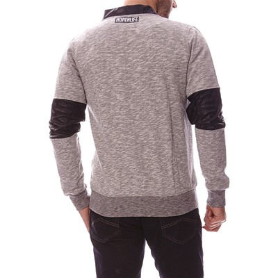 HOPE N LIFE MOZBY#E - Sweat-shirt - anthracite