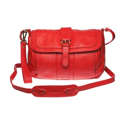 KATE LEE Dany - Sac en cuir - rouge