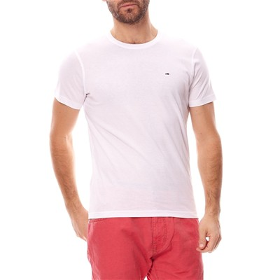 HILFIGER DENIM Original cn - T-shirt manches courtes - blanc