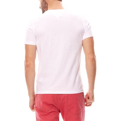 HILFIGER DENIM Original cn - T-shirt - blanc