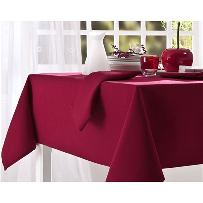 BECQUET Lot de 3 serviettes 220 g/m² - bordeaux