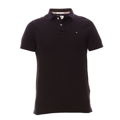 HILFIGER DENIM Original flag - Polo - noir