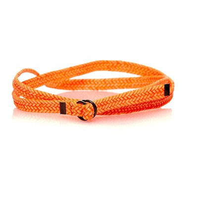 Ceinture à sangle coulissante - orange