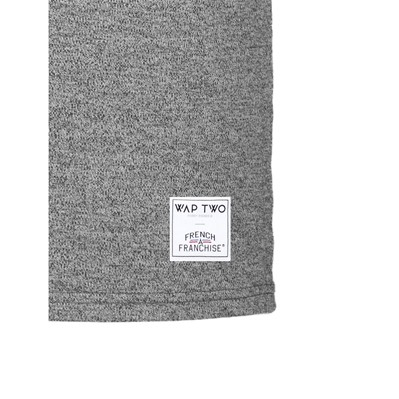 WAP TWO Neu - T-shirt - gris chine