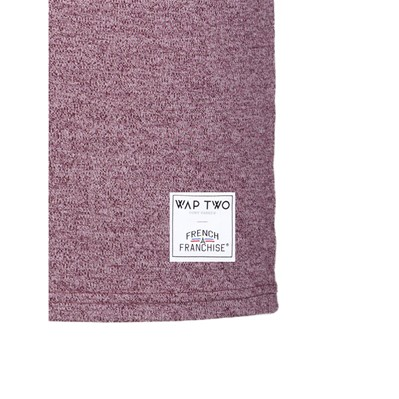 WAP TWO Rive - T-shirt - bordeaux