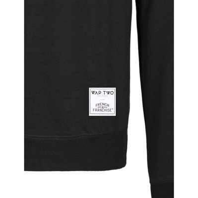 WAP TWO Over - Sweat-shirt - noir