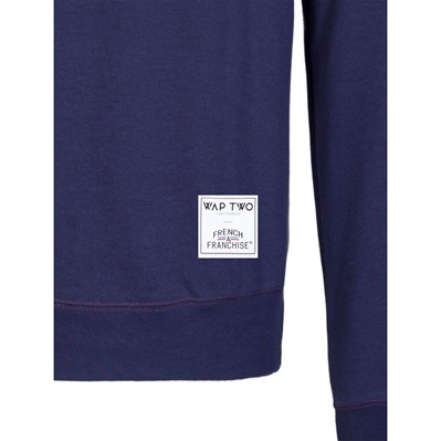 WAP TWO Sweat-shirt - bleu marine