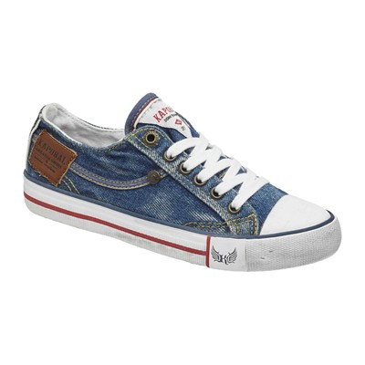 ICARIO - Sneakers - denim bleu