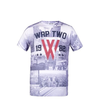 WAP TWO Pride - T-shirt - gris