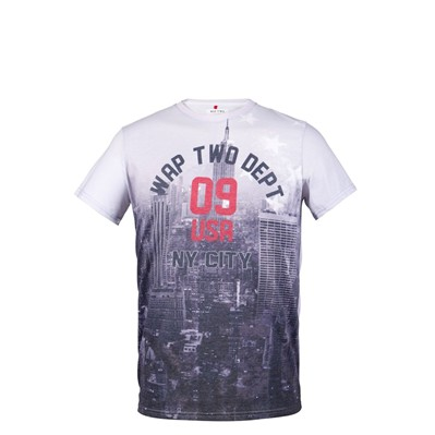 WAP TWO State - T-shirt - gris