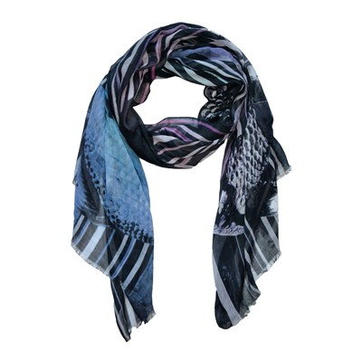 SASHA BERRY Gold and Fish - Foulard - multicolore