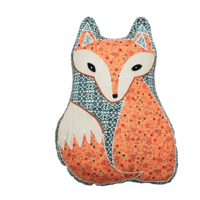 Wise Fox - Coussin fantaisie - multicolore