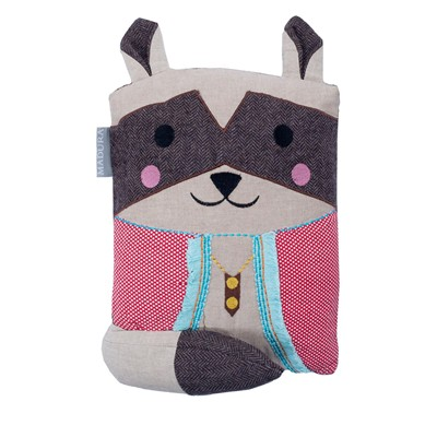 MADURA Mr. Raccoon - Coussin fantaisie - multicolore