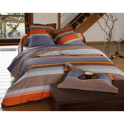 BECQUET Drap en flanelle - orange