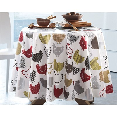 BECQUET Nappe de table imperméable - multicolore