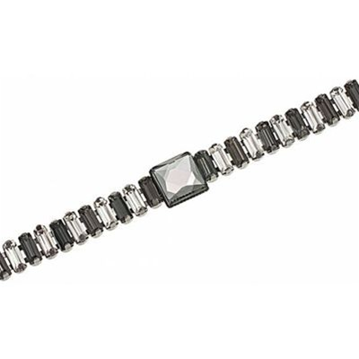 Royale - Bracelet multi-rangs - bicolore