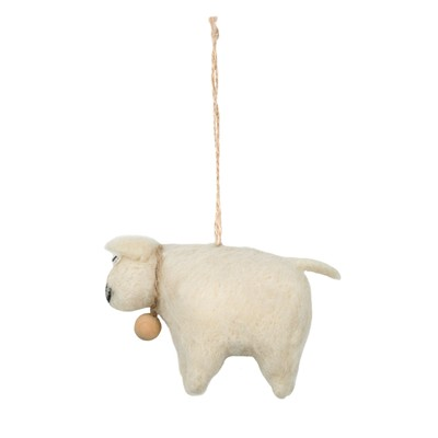 MADURA Mini Mouton - Pompon - naturel