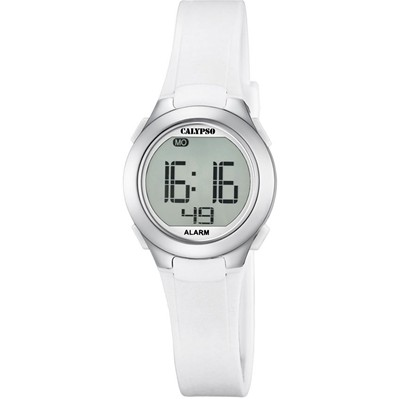 Montre digitale - blanc