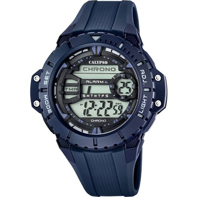 Montre digitale - bleu marine