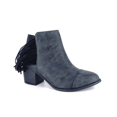 Janice - Boots - gris
