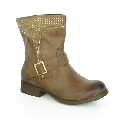 ECLIPSE Bottines - taupe