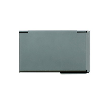 ÖGON DESIGNS One Touch - Porte-cartes de visite - gris