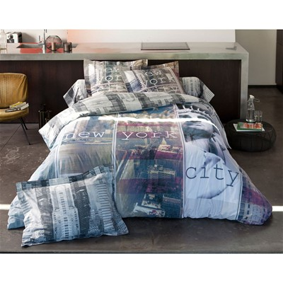 BECQUET New York City - Housse de couette - multicolore