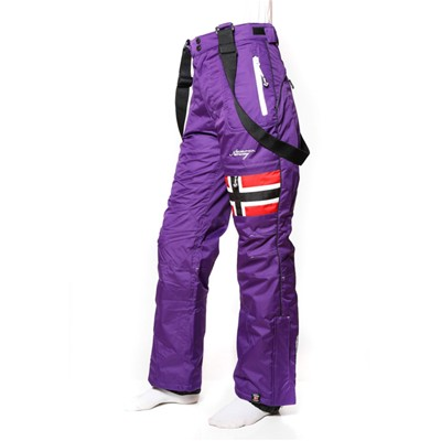 GEOGRAPHICAL NORWAY Wonderfull - Pantalon de ski - violet