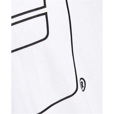 JACK & JONES Logo - T-shirt - blanc