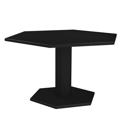 ZHED HEXAGONE - Table - noir