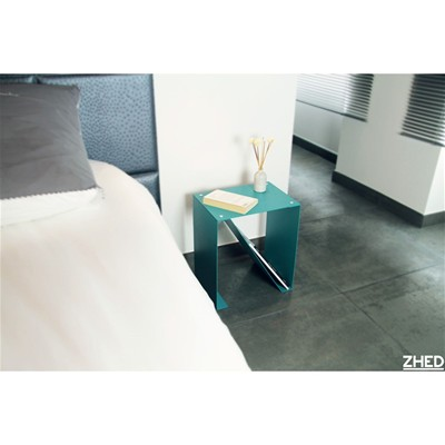 ZHED SPIRIX - Table de chevet 50cm - Blanc cassé