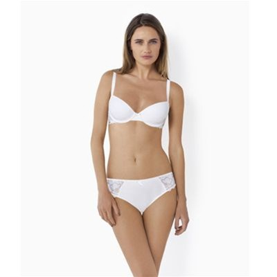 VARIANCE Fabuleuse - Soutien-gorge coque galbe rond - blanc