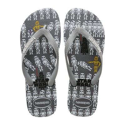 HAVAIANAS STAR WARS - Tongs - gris