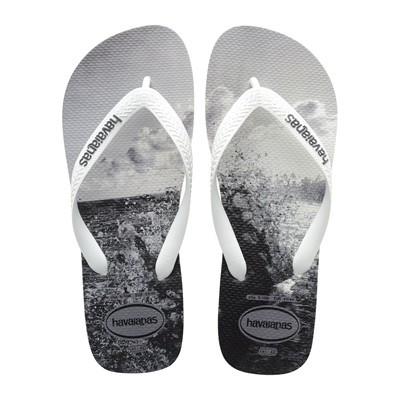 HAVAIANAS HYPE - Tongs - gris