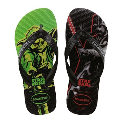 HAVAIANAS KIDS STAR WARS - Tongs - noir