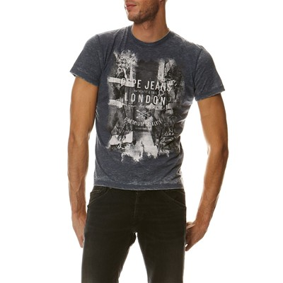 PEPE JEANS LONDON New Holland - T-shirt - bleu