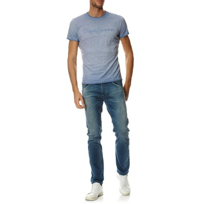 PEPE JEANS LONDON Battersea - T-shirt - bleu ciel