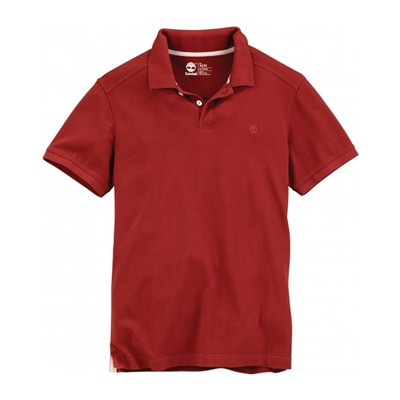 SS SLIM MILLERS - Polo - rouge