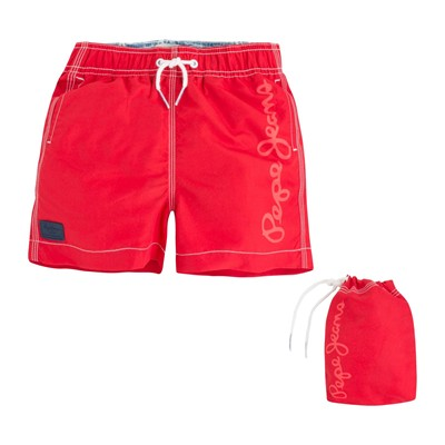 PEPE JEANS LONDON Guido - Bas de maillot - rouge