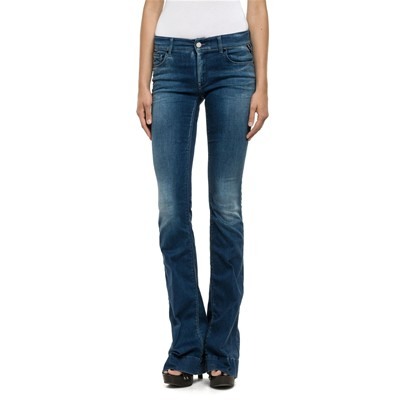 Replay Teena - Jean bootcut - azul oscuro