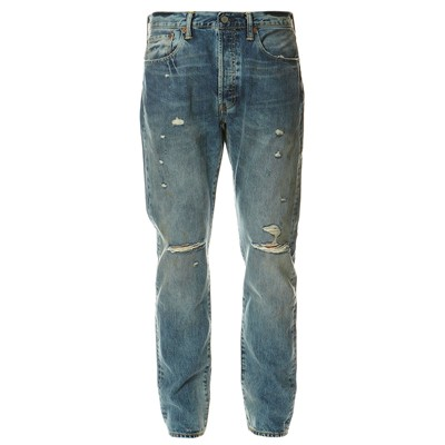 LEVI'S 501 CT - Jean droit boyfriend - denim bleu