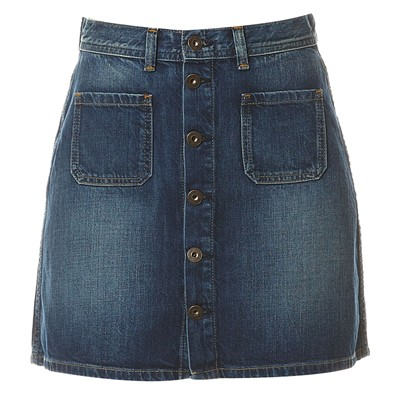 PEPE JEANS LONDON Tate - Jupe - denim bleu
