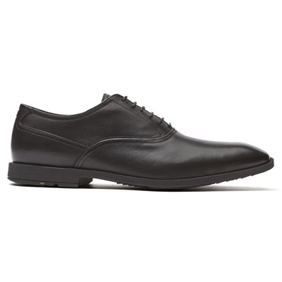 ROCKPORT ASD PLAIN TOE - Derbies - noir