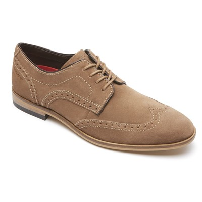 ROCKPORT BL Wing - Derbies en cuir - café