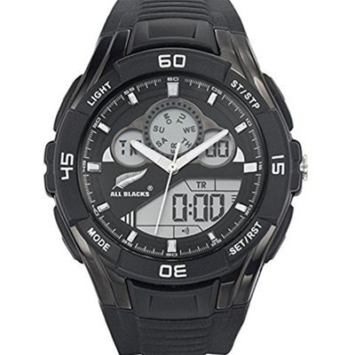All Blacks 680259 - montre en silicone - noir