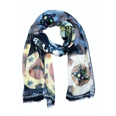 SASHA BERRY Jackpot brown - Foulard - marron