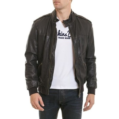 OAKWOOD Norton - Blouson en cuir - anthracite