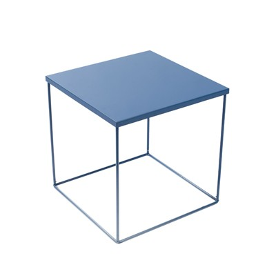 Kube - Table de chevet Kube - bleu