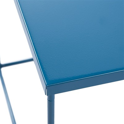 MADURA Kube - Table de chevet Kube - bleu