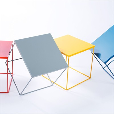 Kube - Table de chevet Kube - orange